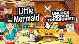 Unlock Secret Pirate Treasure! Wonderland Little Mermaid App for Kids