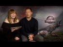Chris Pratt and Bryce Dallas Howard Respond to IGNs Jurassic World 2 Comments