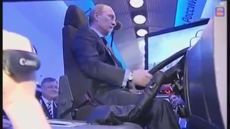 Как Путина учили ездить на камазе и что он вытворял на дороге