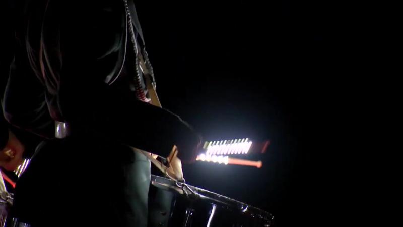 Шоу барабанщиков и военный оркестр Военного института на 'Әскери керней-2017'..mp4
