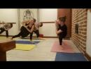 Волкова Екатерина. Мастер-класс по Vinyasa Power Flow Yoga