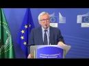 Jean-Claude Juncker : Nous veillerons à la sauvegarde des droits des Africains en Italie