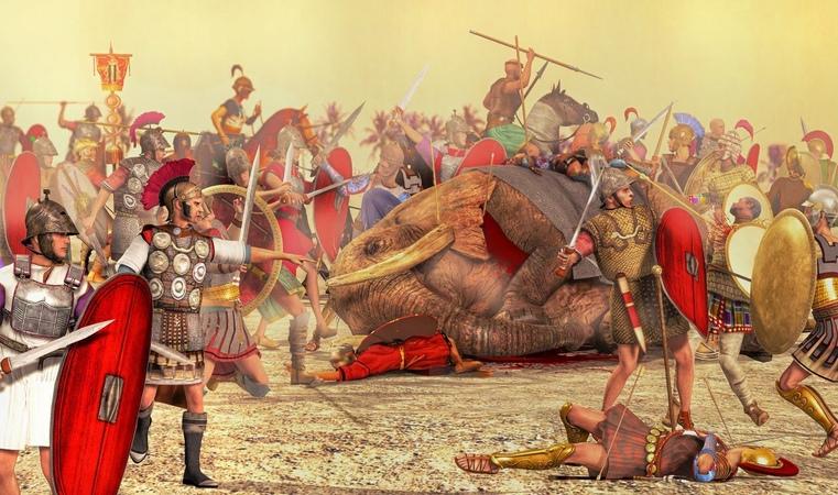 Войны потрясшие древний мир. Великое противостояния сверх держав.