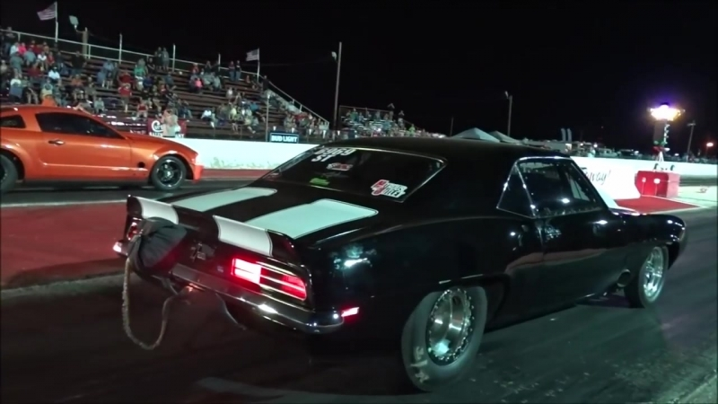 BoostedGT vs Nitrous Camaro at Redemption 13 no prep