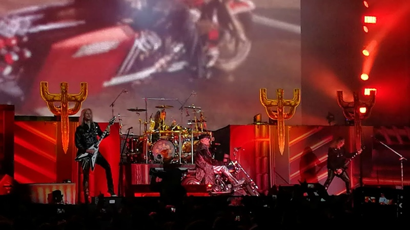 JUDAS PRIEST - Hell Bent For Leather - Rockfest, Hyvinkää, Finland 7.6.2018