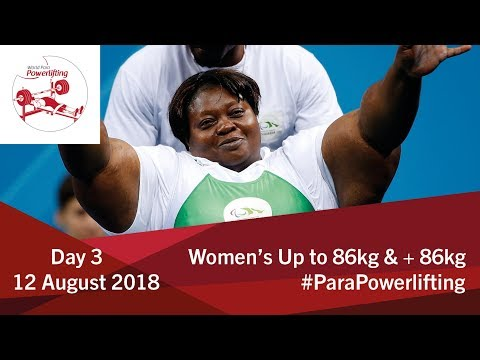 Women's Up to 86kg 86kg Algiers 2018 WPPO African Championships