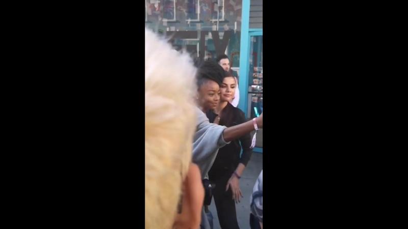 """May 16 Selena with Skai Jackson at the Puma """"Selena Gomez x Defy City"""" event in Los Angeles, CA. (34)"""