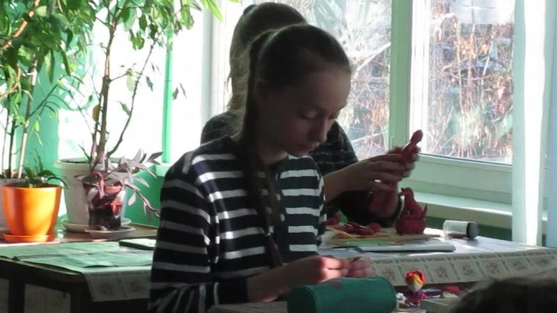 MVI 4420на конкурсе Пластилиновая ворона в 43 гимназии г Омска