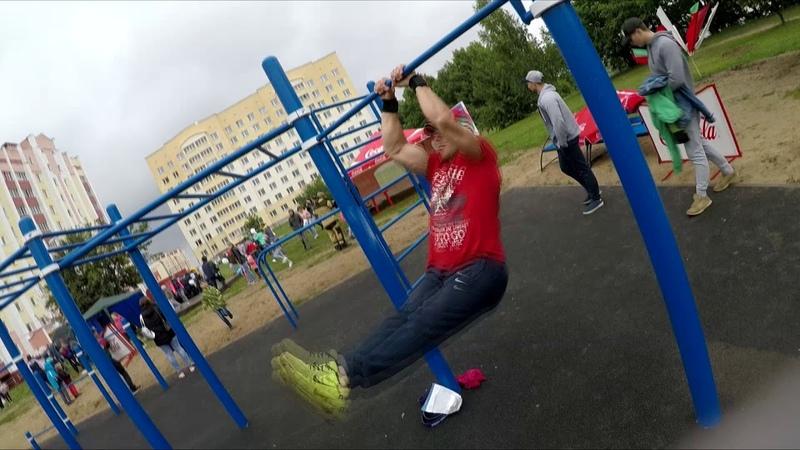 Федерация STREET WORKOUT | Открытие площадки WorkoutMaster.by | г. Рогачёв | GARNET WORKOUT FAMILY