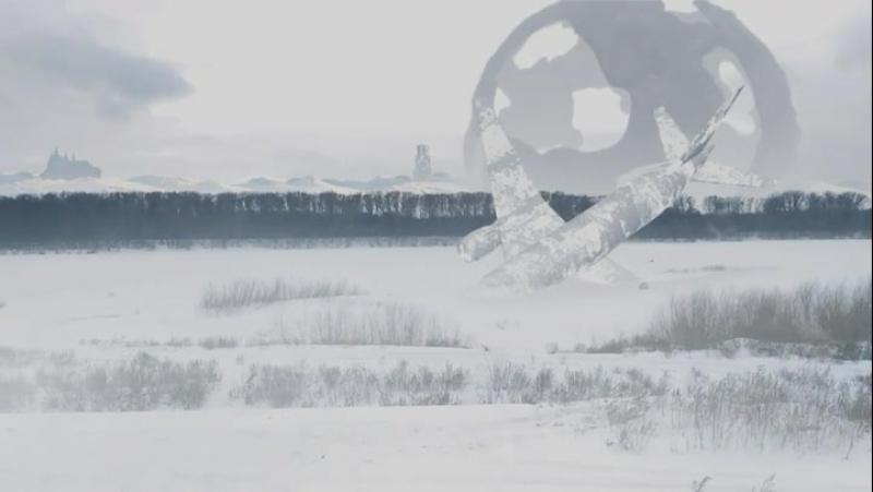 зима пришла,композинг,автер эффект,елемент 3д