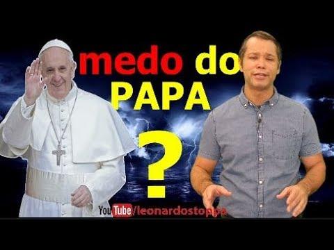 Medo do Papa Essa direita tá passando aperto...