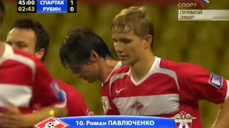 2006 Гол Романа Павлюченко в ворота казанского Рубина 3 0