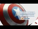 CAPTAIN AMERICA'S SHIELD 3D speedmodeling in blender