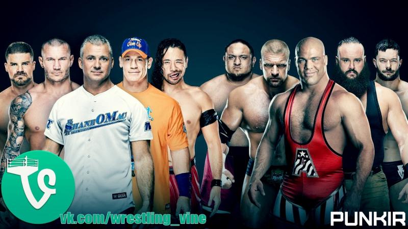 Team Raw vs. Team Smackdown - Survivor Series 2017
