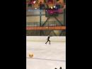 Александра Трусова - 4T, тренировка, ЛД Хрустальный, 15.12.17
