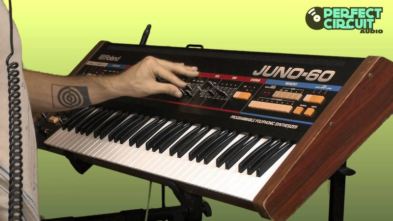 Roland Juno 60 Vintage Analog Synthesizer Overview