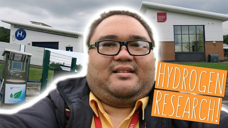 THE ONLY HYDROGEN FUELLING CENTRE IN S.WALES! | Jonas visits the USW Research centre