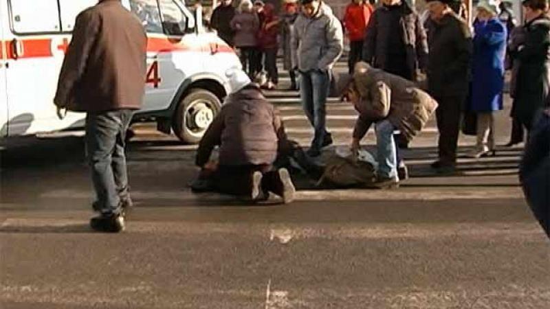 В Зеленчукской сбили девушку на пешеходном переходе