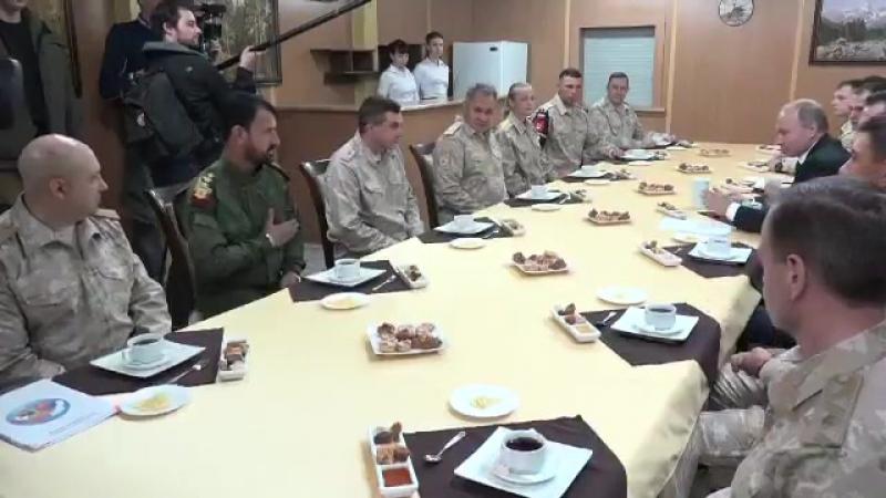 Великий хан раис и Сухейль за чашкой чая 11 декабря 2017