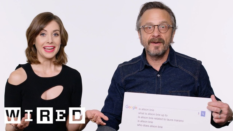Alison Brie Marc Maron Answer the Web's Most Searched Questions | WIRED