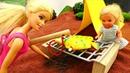 Барби, Штеффи и Кен на пикнике. Мультики и Игры для девочек