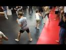Ратибор на тренировке в бойцовском клубе BARS GYM 2