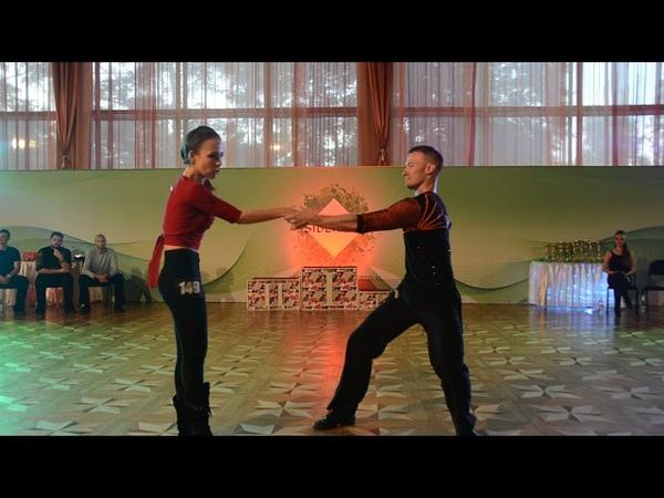 ХАСТЛ, Discofox, Siberian Fest 2018, ДнД Main Star, финал, Пономарев Сергей и Дараева Наталья, slow