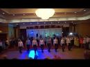 Танец жениха и его друзей на свадьбе