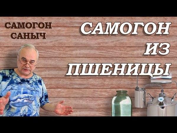 Самогон из пшеницы По шаговый рецепт от браги до дегустации СамогонСаныч