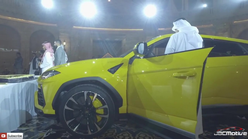 Launch of The Lamborghini URUS in Qatar