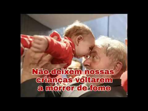 Até a criançada sabe: aprisionamento de Lula é injustiça e perseguição.