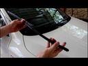 Замена пердних и заднего дворника на АУДИ Q7 2008 AUDI Q7 3,0 дизель