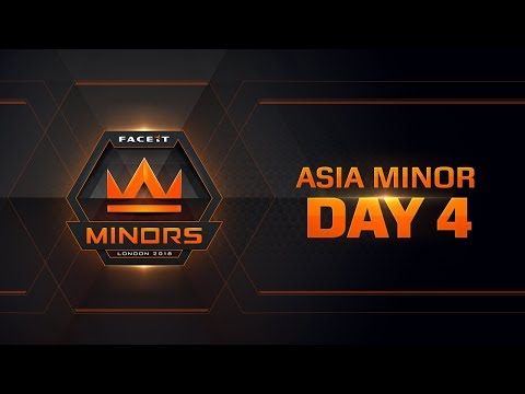 The FACEIT Asian Minor | Day 4 Europe Minor | Day 1