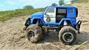 Машинки для детей - полицейская машина в грязи Игрушки для мальчиков