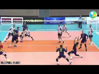 Incredible Spikes by Francisco Ruiz. Spanish Superman. Volleyball Best Players.