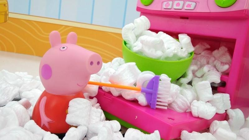 Peppa Pig prepara una sorpresa per mamma. Giochi per bambini