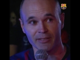 The most emotional video of the night - infinit8iniesta