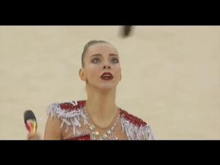 Полина Шматко - булавы (квалификация) // Чемпионат Европы 2018