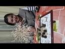 сағат түнге 2. Қайын сіңліме арнап жасаған қол өнерім. Сіріңкеден жасалған БАҚЫТ АҒАШЫ