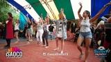 Evelina Kate Marcello and Magna Gopal Dancing Georgian National Animation at Seasky 15.06.2018