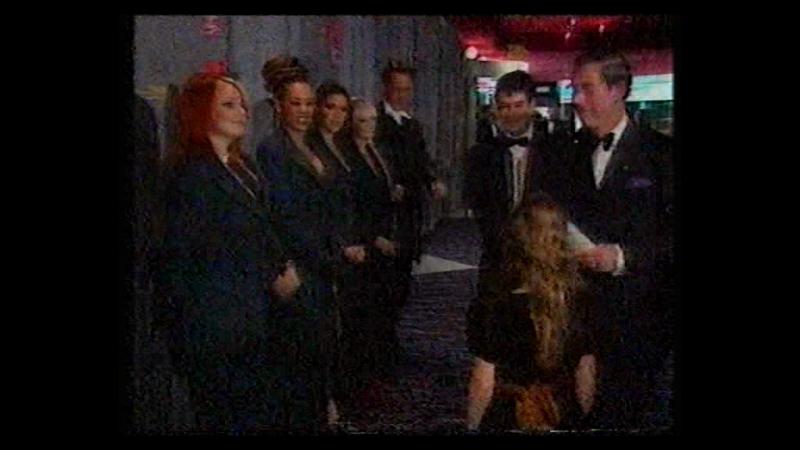 Spice Girls - Spiceworld Premiere - London - NBN Late News 15.12.1997