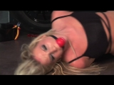 BoundHub - Danielle maye bound and gagged in OTK boots