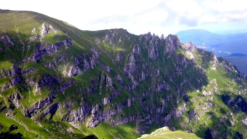 Bucegi Mountains by drone 2017 - Sphinx, Babele, Omu