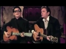"""Roy Orbison Johnny Cash """"Oh, Pretty Woman"""" Live on The Johnny Cash Show 1969"""