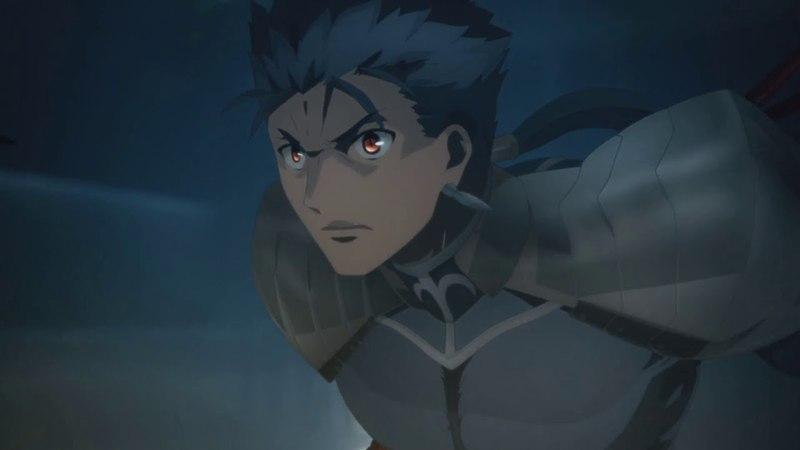FateStay Night Heavens Feel - Lancer vs Assassin [English Subtitles]