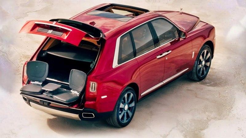 2019 Rolls Royce Cullinan SUV - interior Exterior and Drive
