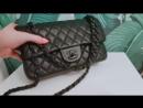 Классическая Chanel FULL BLACK LUXE