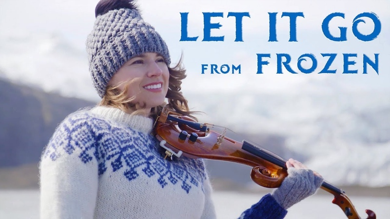 Let It Go (Disney's Frozen) Violin Cover - Taylor Davis