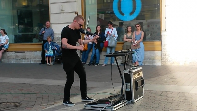 @nikedemin НикитаДемин Никита Дёмин The Omen (The Prodigy) live