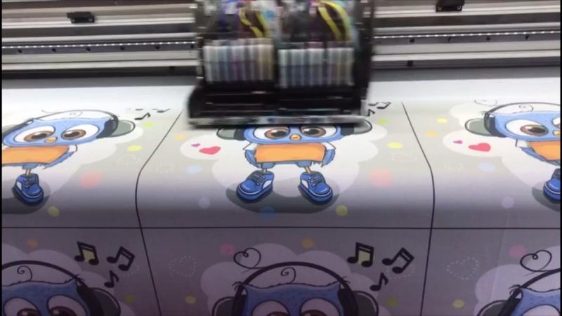 Прямая цифровая печать на ткани